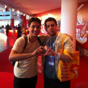 Paulo e Luis França, best friends