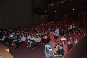 Platéia lotada no primeiro dia do Festival de Humor Ceará 2013
