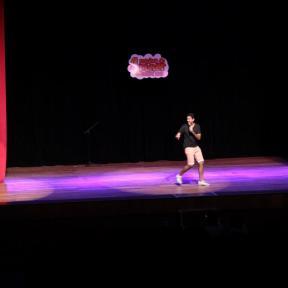 Vagner Ancelmo no palco Festival de Humor Ceará 2013